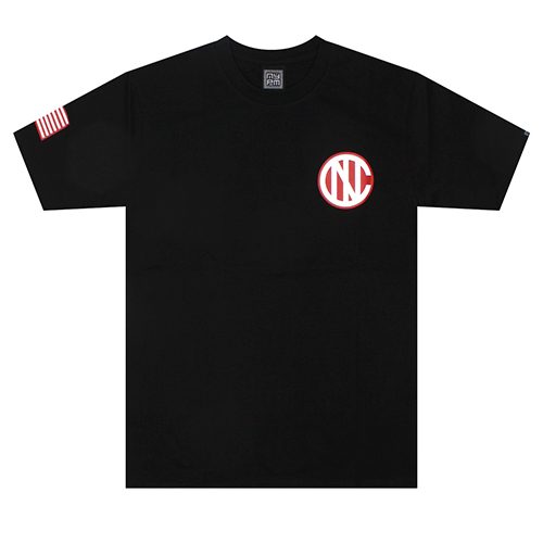 [NASTY PALM] N-YORK TEE (BLK)