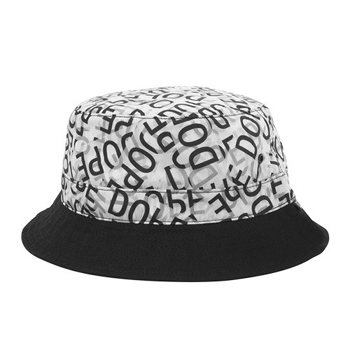 [DOPE] CRIME SCENE BUCKET (BLACK/WHITE)