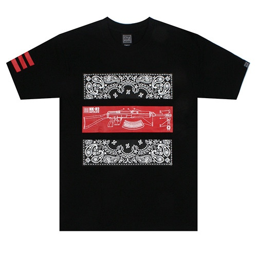 [NASTY PALM] NASTY WEAPON TEE (BLK)