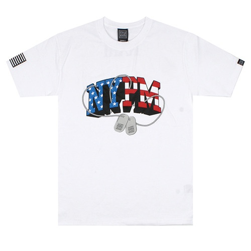 [NASTY PALM] NASTY PEACE TEE (WHT)