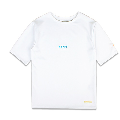 [MARCH WITH] OVERSIZED ROUND TEE Off WHITE