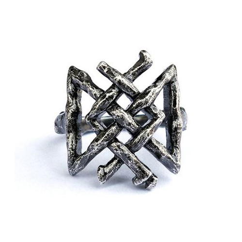 [DISTURBIA] LONGEVITY RUNE RING