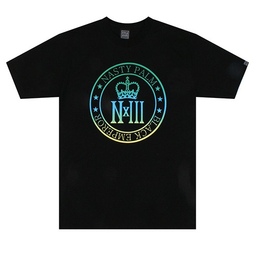 [NASTY PALM] ROYAL SPECTRUM TEE (BLK)