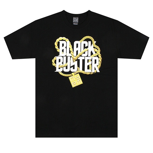 [NASTY PALM] BLACKBUSTER GOLDIE TEE (BLK)
