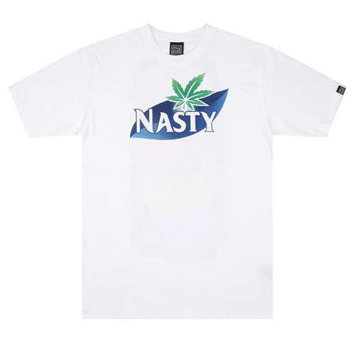 [NASTY PALM] NASTY THIRSTY TEE (WHT)