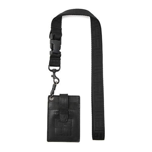 [NASTY PALM] NYPM NECKLACE CARD POUCH (BLK)