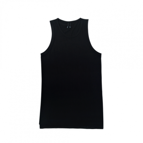 [SAFARY] P-LAYER LONG SLEEVELESS SHIRT (BLACK)