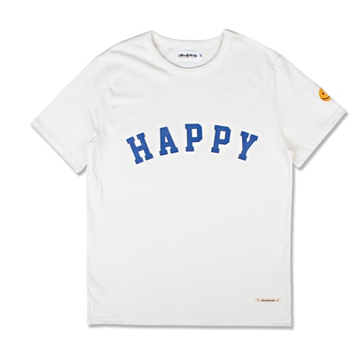 [MARCH WITH] HAPPY HEAVYWEIGHT TEE OFF WHITE