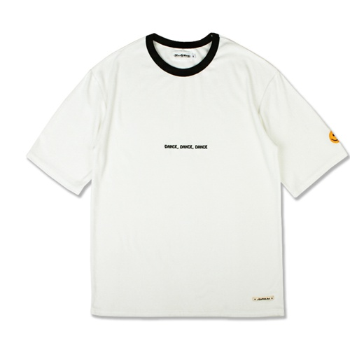 [MARCH WITH] OVERSIZED TOWEL TEE WHITE