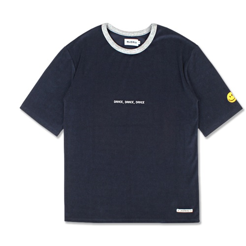 [MARCH WITH] OVERSIZED TOWEL TEE NAVY