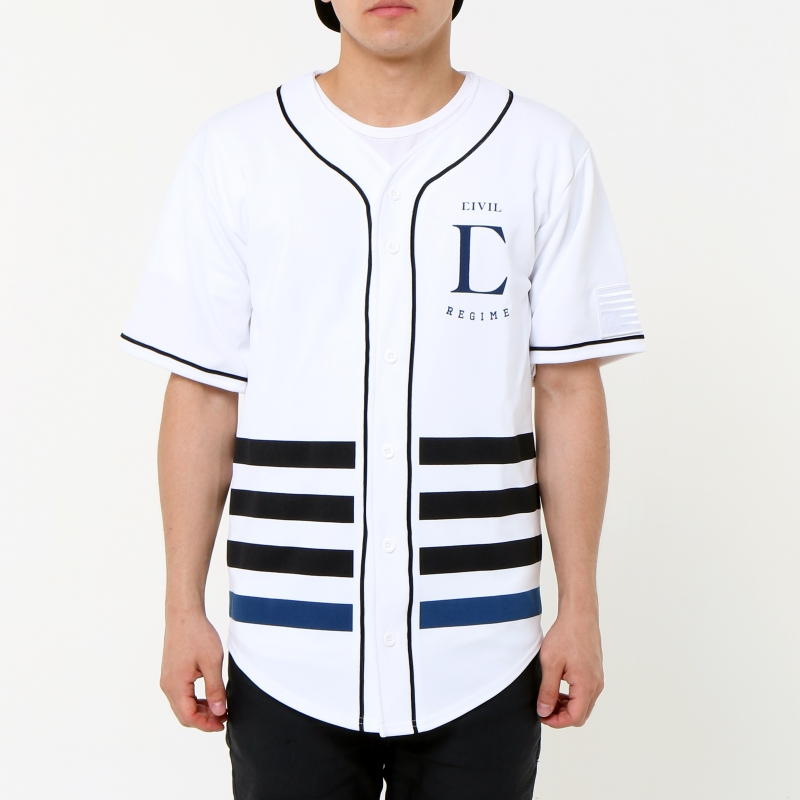 [$ SHOP SALE] [CIVIL] LEAGUE BASEBALL JERSEY (White)