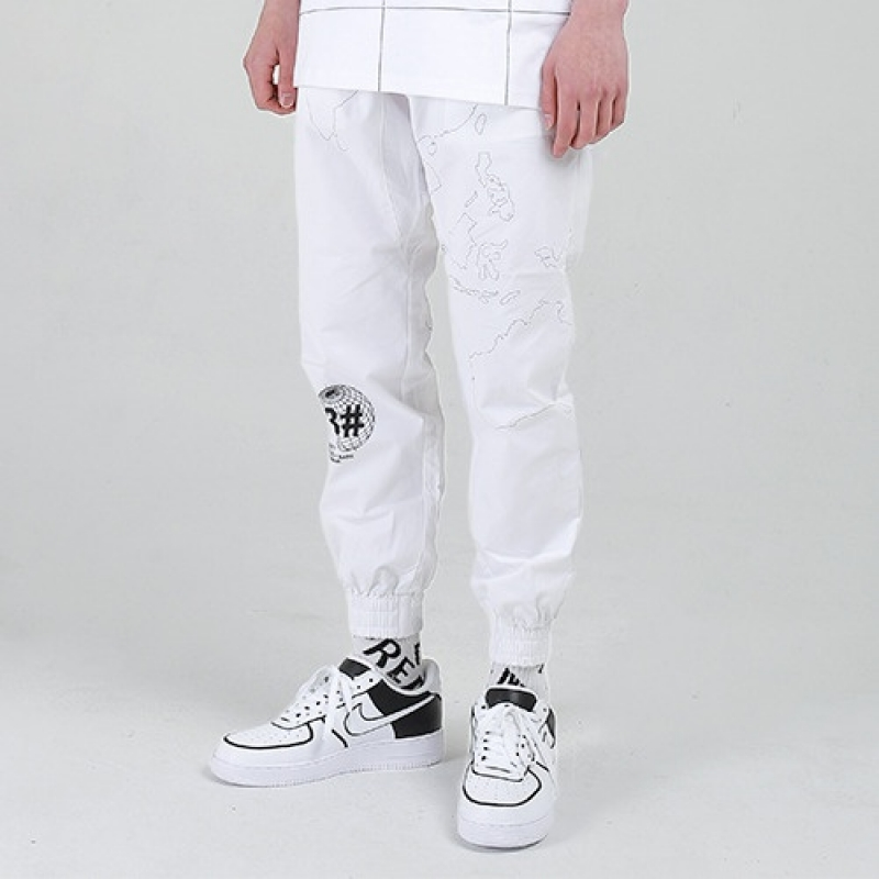 [VSA] V-OPERATION JOGGER PANTS (WHT)