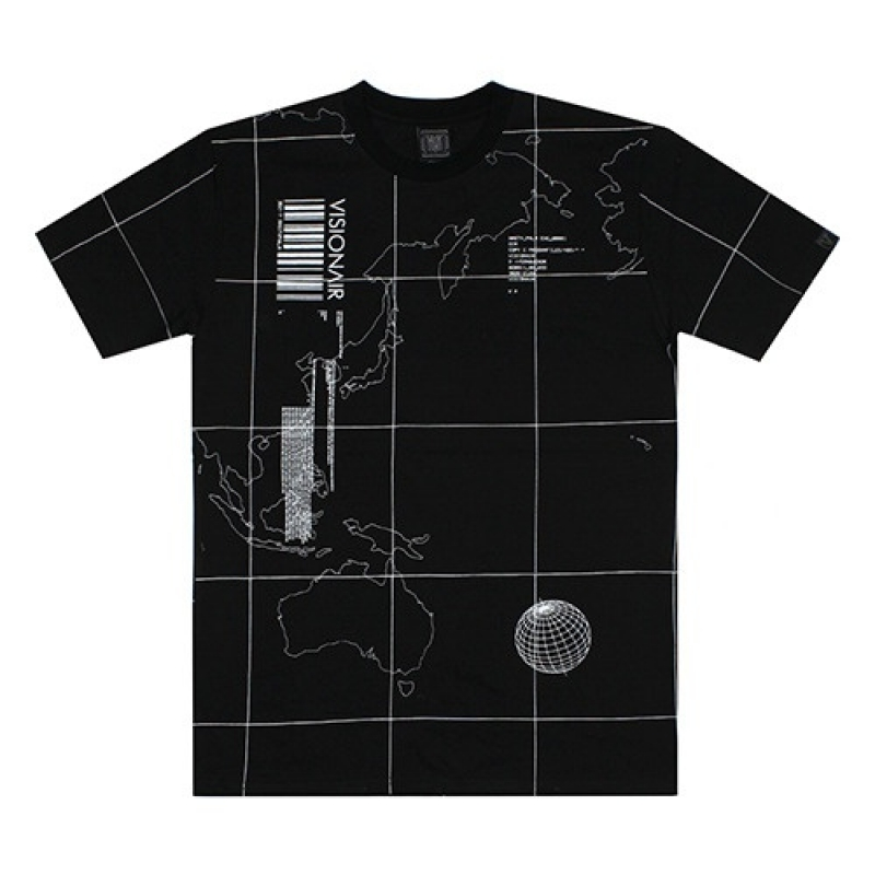 [VSA] V-OPERATION TEE (BLK)