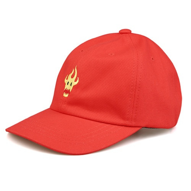 [NASTY PALM] M-FLAME CAP (RED)