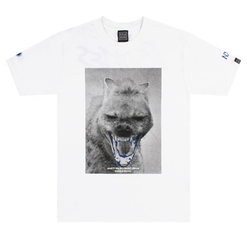 [NASTY PALM] R-BASECREAM TEE (WHT)