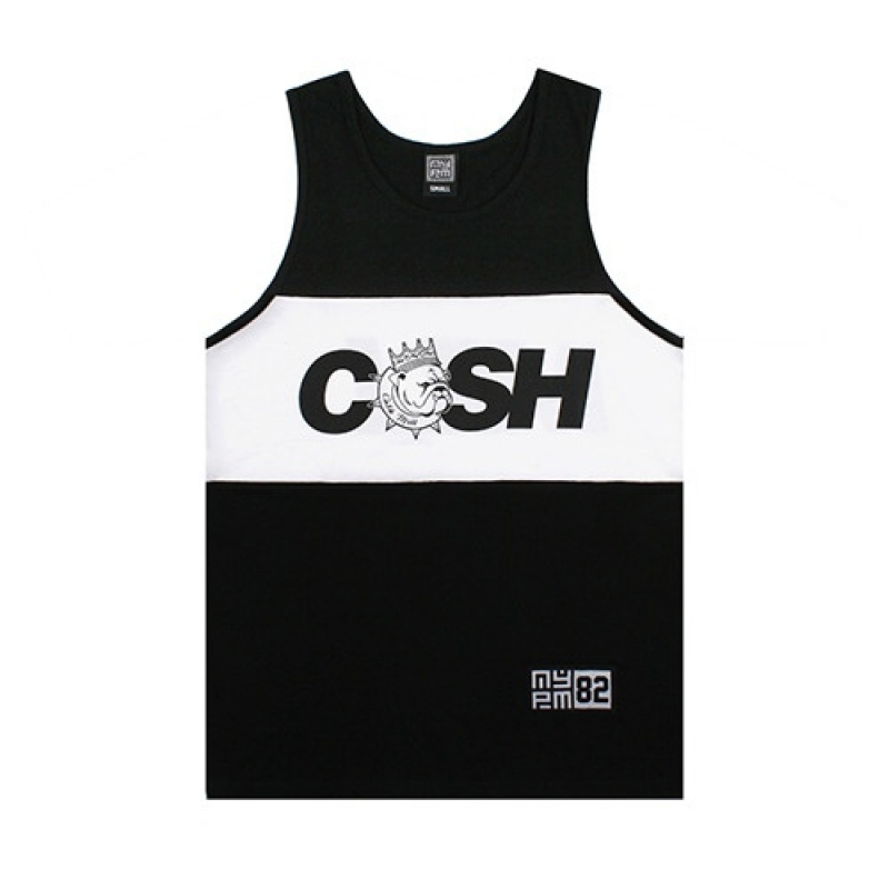 [NASTY PALM] R-CASHMILL SLEEVELESS (BLK)