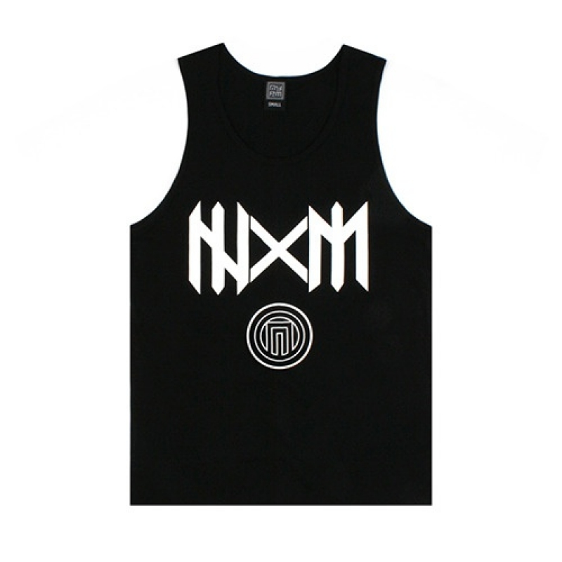 [NASTY PALM] N-SPEAR SLEEVELESS (BLK)