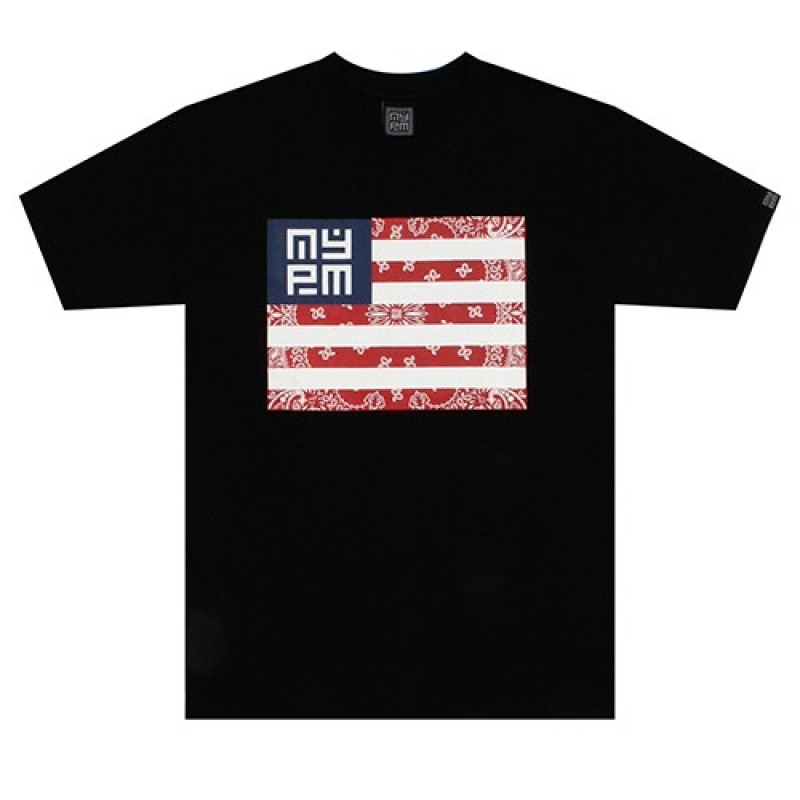 [NASTY PLM] NASTY NATION TEE (BLK)