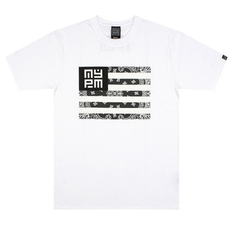 [NASTY PLM] NASTY NATION TEE (WHT)