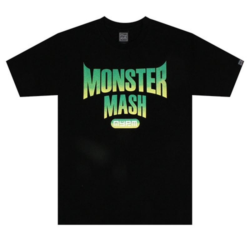 [NASTY PALM] MONSTERMASH TEE (BLK)