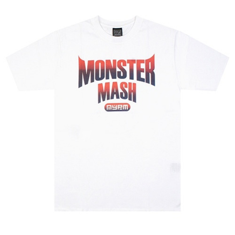 [NASTY PALM] MONSTERMASH TEE (WHT)