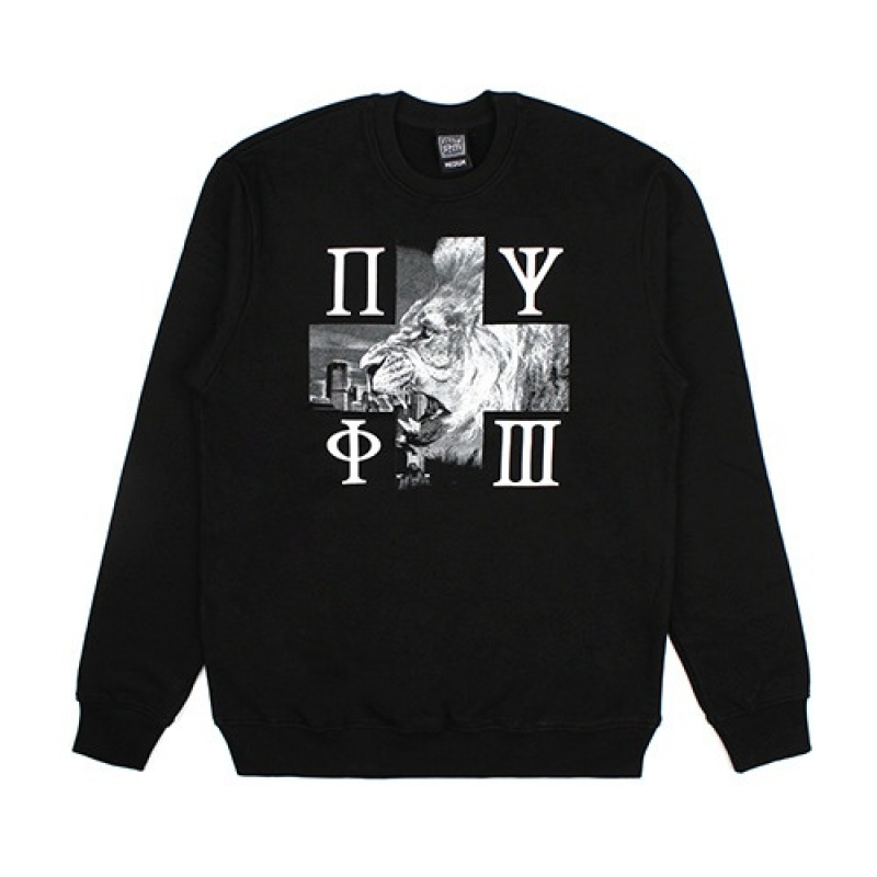 [NASTY PALM] N-SNARL SWEATSHIRTS (BLK)