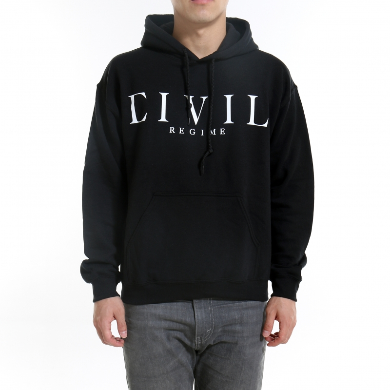 [$ SHOP SALE] [CIVIL] STANDARD PULLOVER HOODIE (Black)