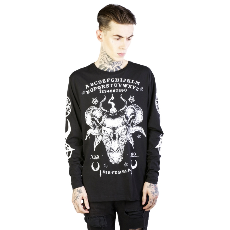 [$ SHOP SALE] [DISTURBIA] OUIJA LONG SLEEVE T-SHIRT