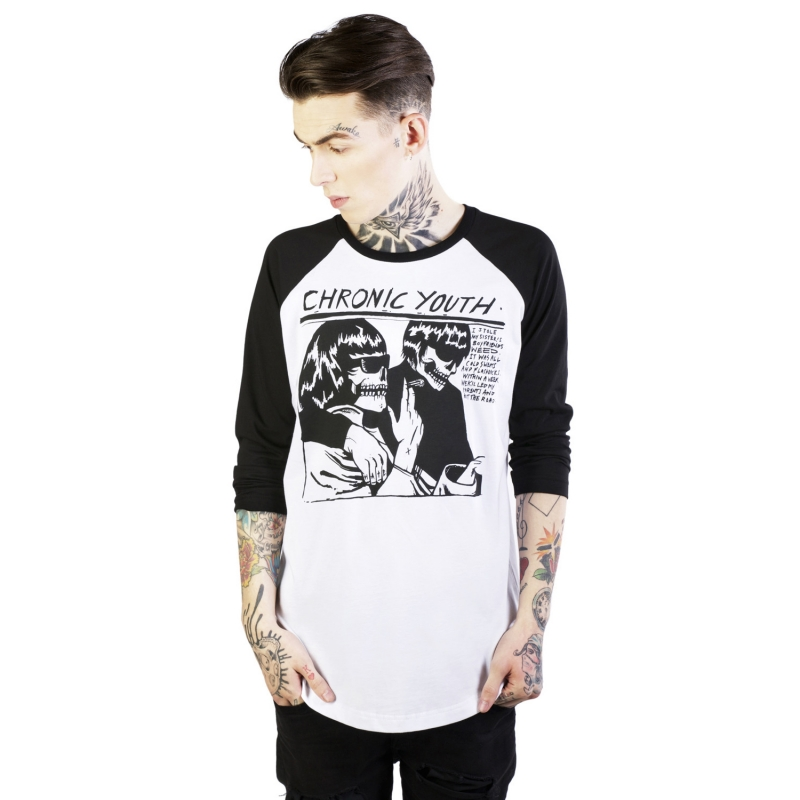 [DISTURBIA] CHRONIC YOUTH RAGLAN