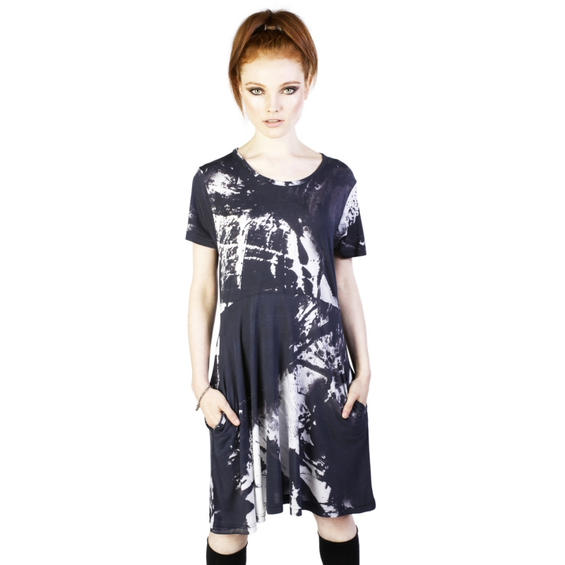 [$ SHOP SALE] [DISTURBIA] INK DRESS