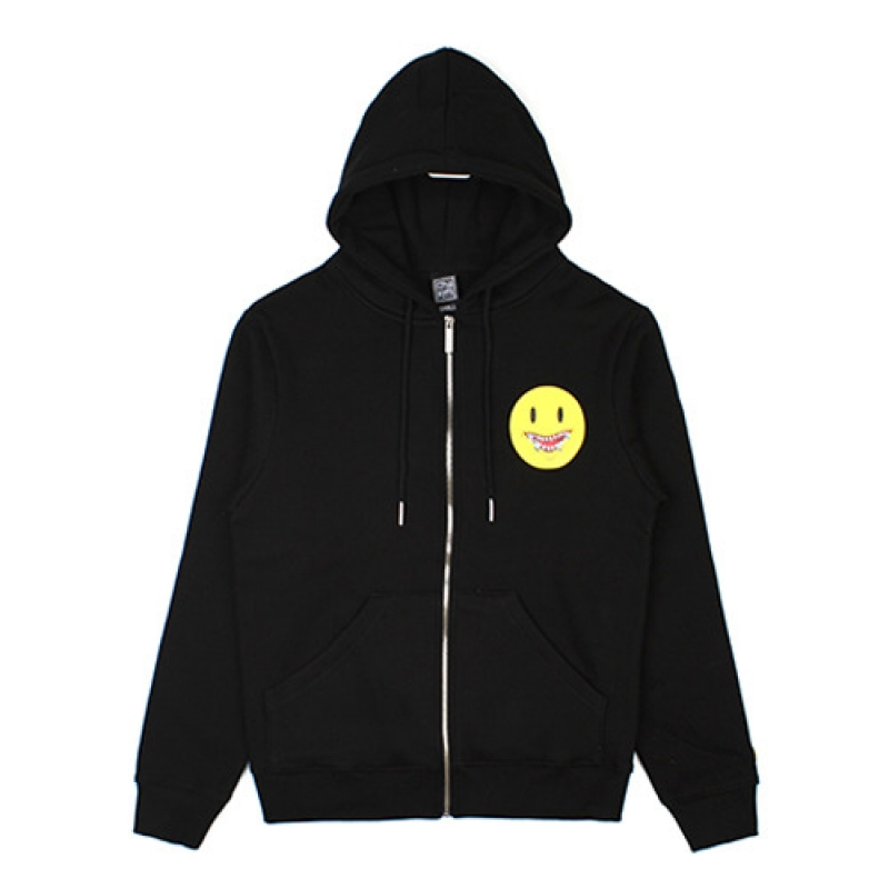 [NASTY PALM] DEATH SMILE HOODZIPUP (BLK)