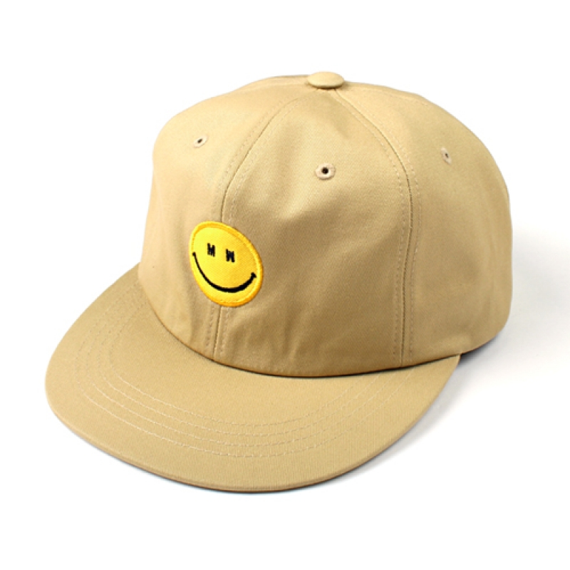 [MARCH WITH] MW SMILE 6P BALL CAP BEIGE