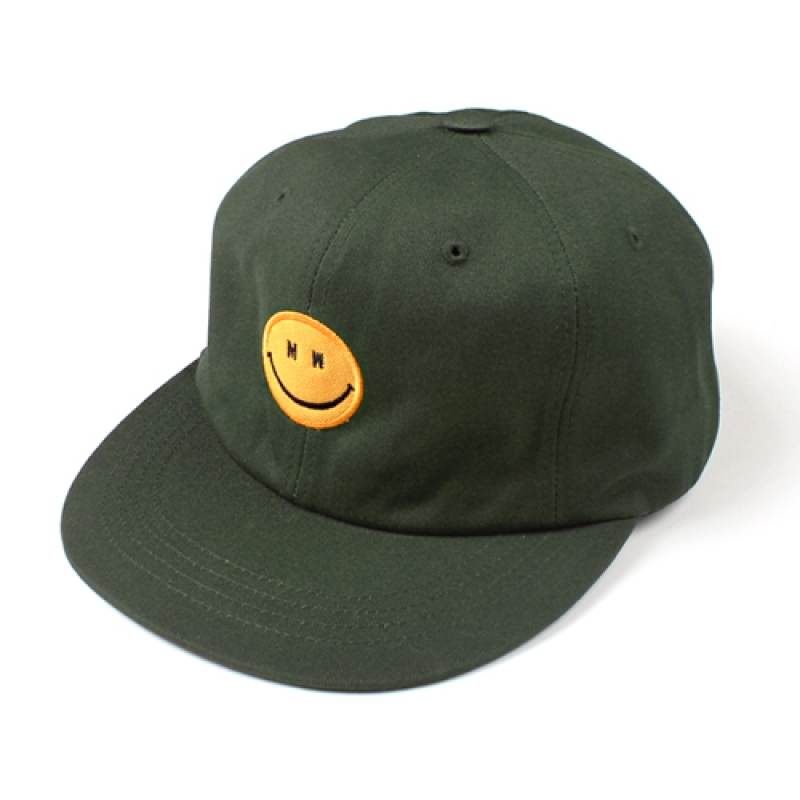 [MARCH WITH] MW SMILE 6P BALL CAP OLIVE