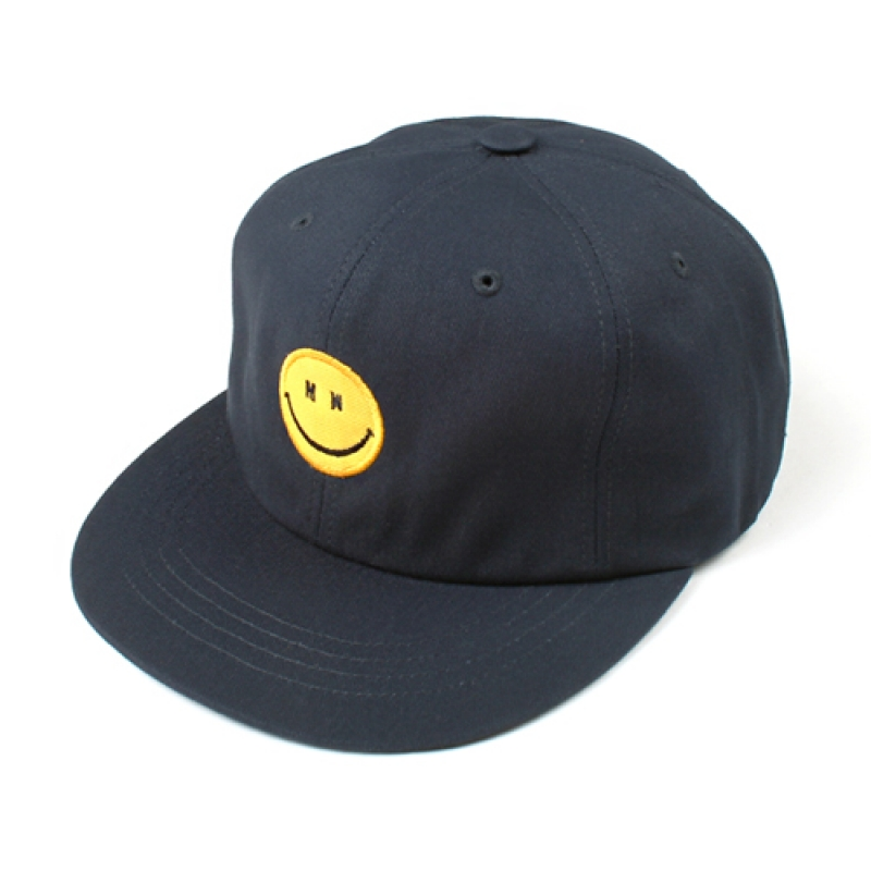 [MARCH WITH] MW SMILE 6P BALL CAP NAVY