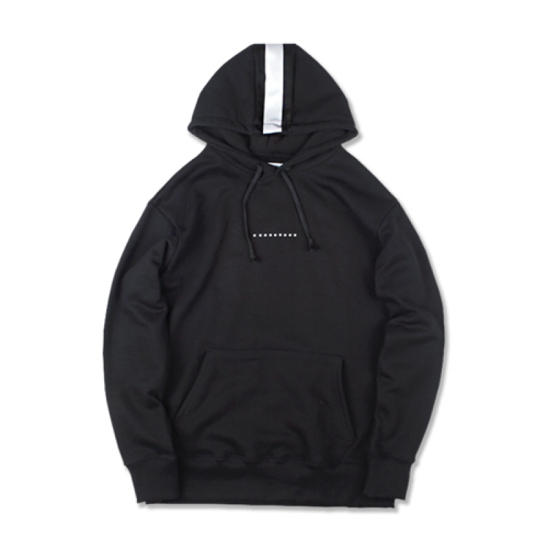 [MARCH WITH] REFLECTOR HOODIE BLACK