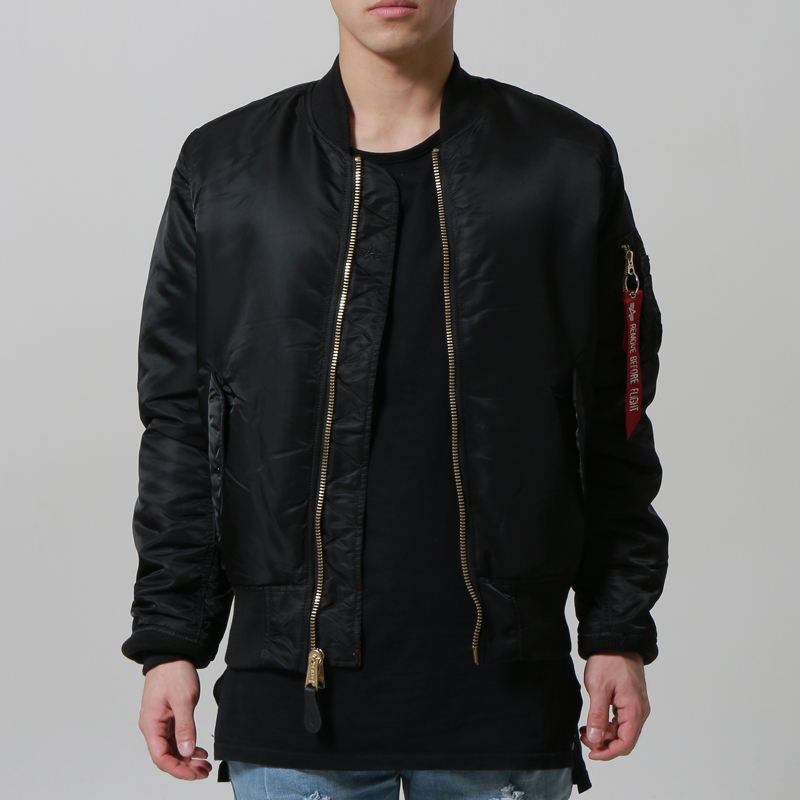 [마지막수량] [ALPHA INDUSTRIES] SLIM FIT MA-1 (BLACK)