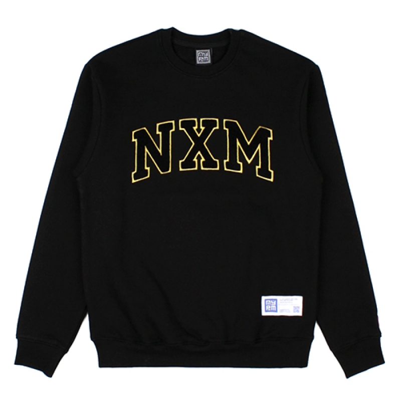 [NASTY PALM] NXM SENIOR SWEATSHIRTS (BLK)