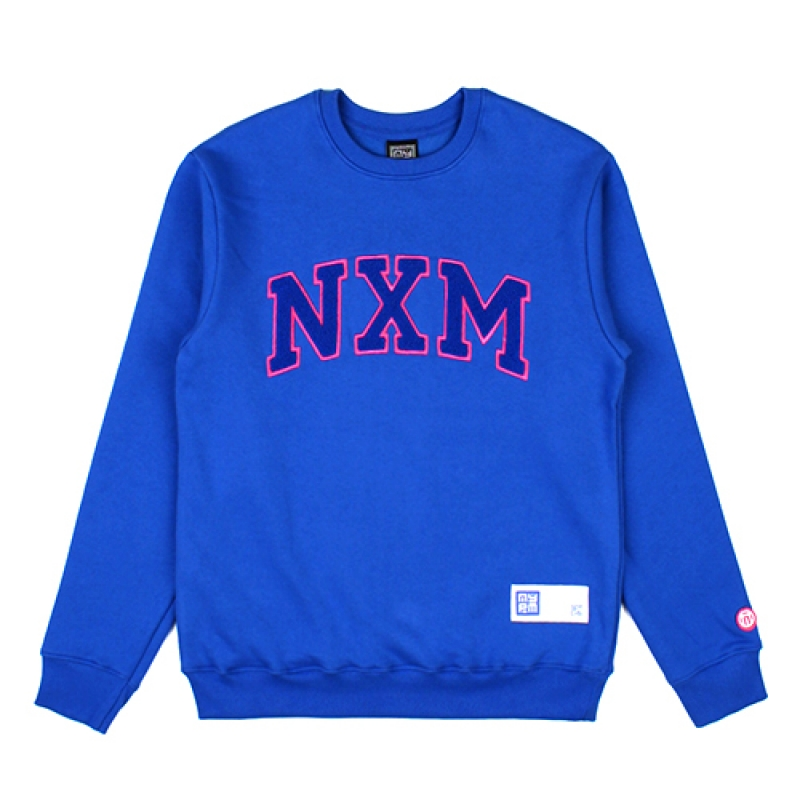 [NASTY PALM] NXM SENIOR SWEATSHIRTS (BLUE)