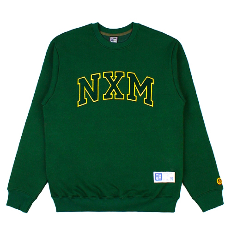 [NASTY PALM] NXM SENIOR SWEATSHIRTS (GREEN)