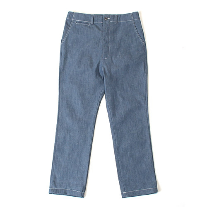 [GROSS INVENTORY] SLIM BAGGY DENIM (BLUE)