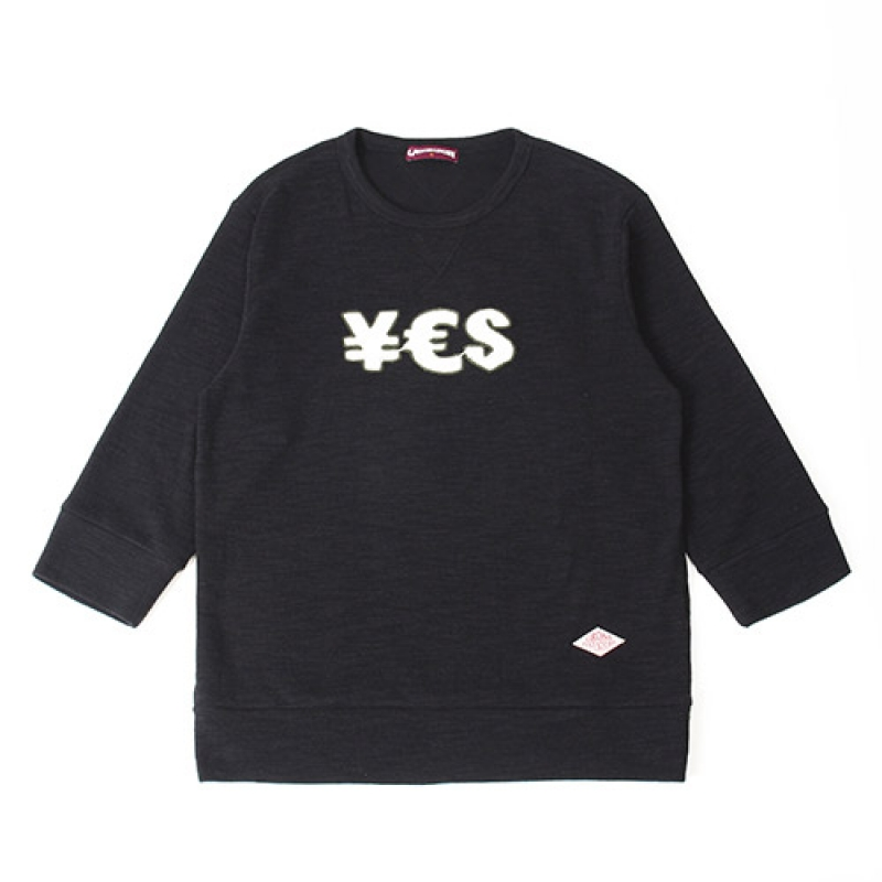 [GROSS INVENTORY] YES T-SHIRTS(BLACK)