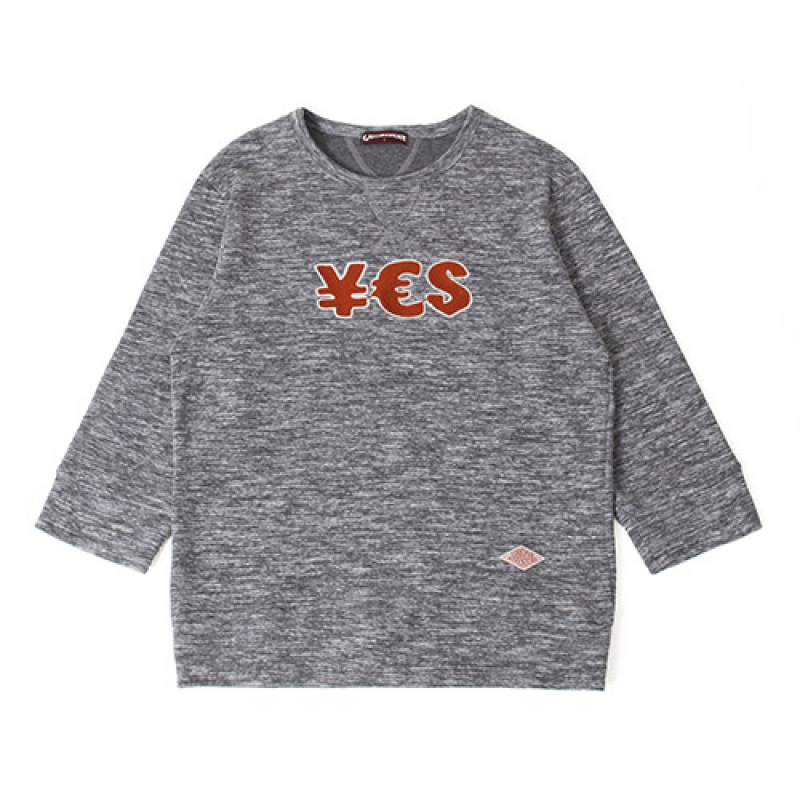 [GROSS INVENTORY] YES T-SHIRTS(GREY)