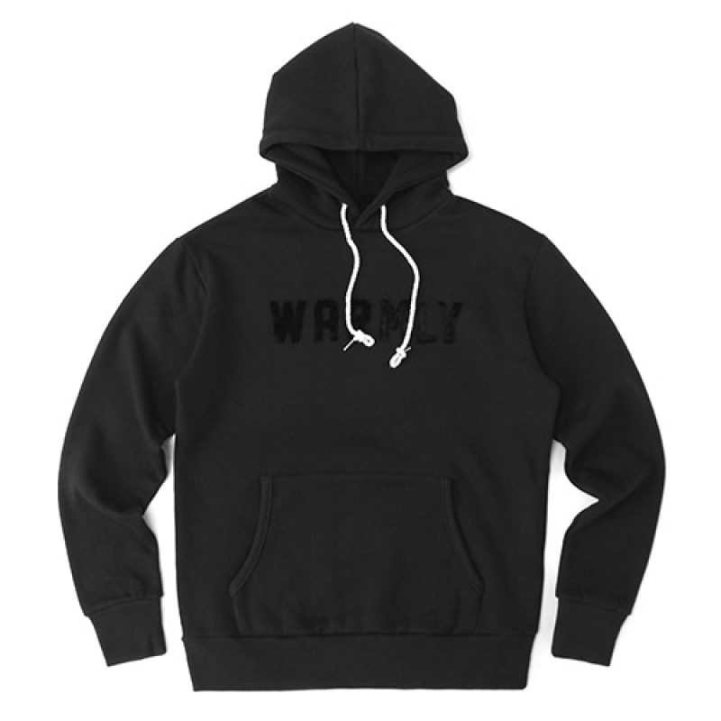 [GROSS INVENTORY] WARMLY HOODIE (CHARCOAL)