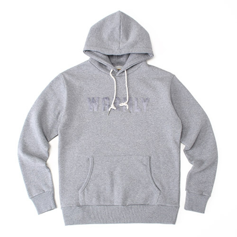[GROSS INVENTORY] WARMLY HOODIE (GRAY)