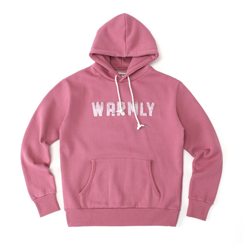 [GROSS INVENTORY] WARMLY HOODIE (PINK)