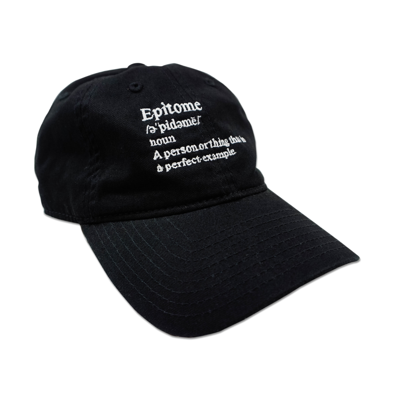 [EPTM] BLACK EPITOME HAT