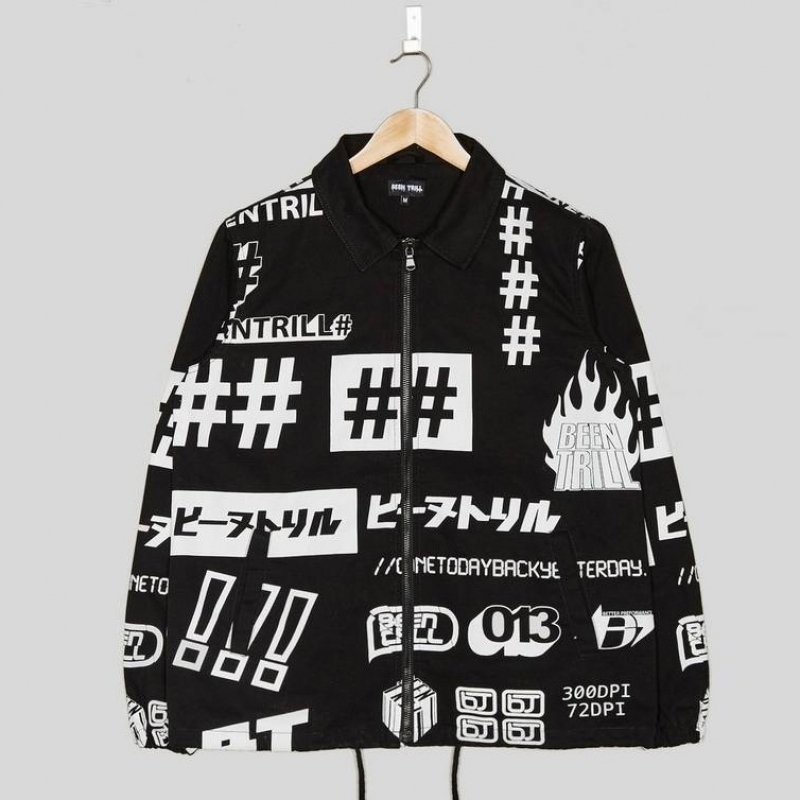 [BEEN TRILL UK] ALL OVER PRINT JACKET