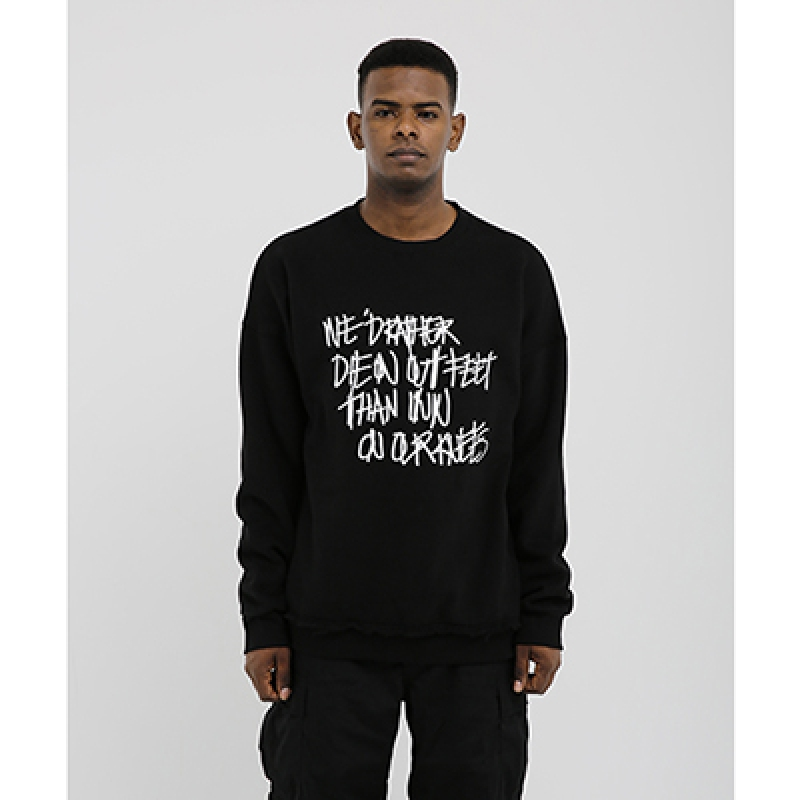 [OBH] SWEATSHIRT BLACK
