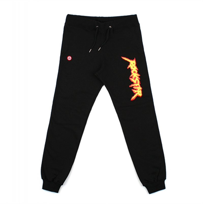 [NASTY PALM] ROCKSTAR SWEATPANTS (BLACK)
