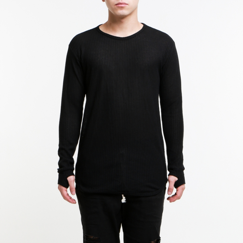 [EPTM] ALL BLACK L/S TRAINING THERMAL ORGNL LONG TEE